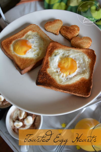 Toasted Egg Hearts