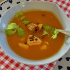Lachs Suppe